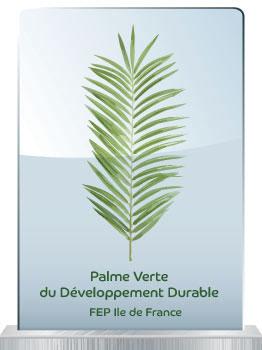 Palme verte du développement durable